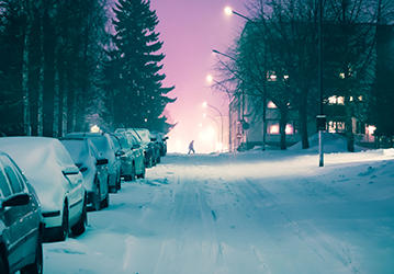 Kışın Araba Nasıl Park Edilmeli?